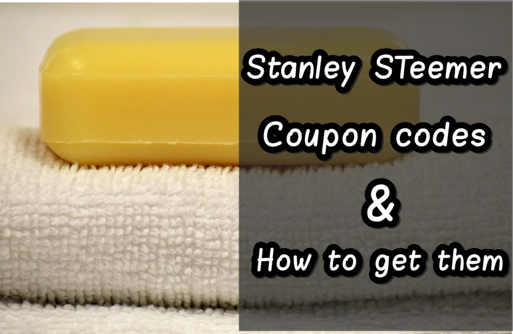 Stanley Steemer Coupons code