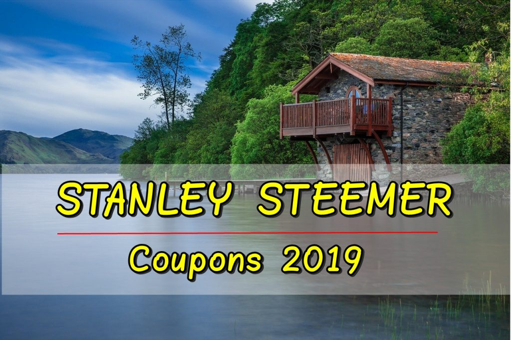 STANLEY STEEMER COUPON 2019